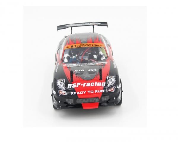 Радиоуправляемый автомобиль для дрифта HSP Flying Fish 2 - 1:16 4WD - 94163-16376 - 2.4G