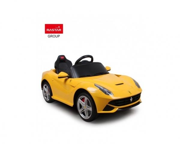Радиоуправляемый электромобиль Rastar Ferrari F12 12V цвет Желтый Rastar RAS-81900-Y