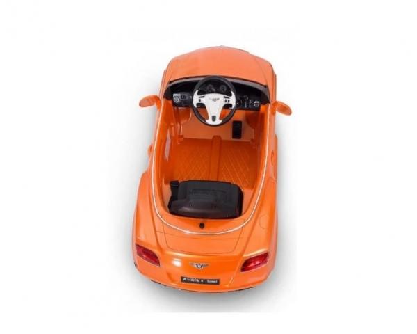 Радиоуправляемый электромобиль Rastar 82100 Bently Continental GTC 12V цвет оранжевый Rastar RAS-82100-O