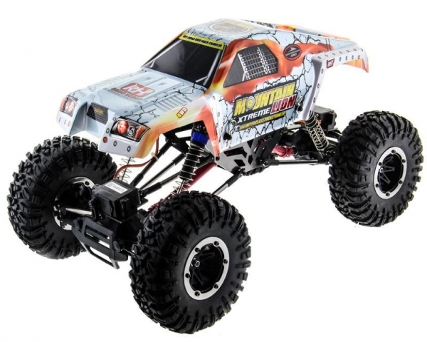 Радиоуправляемый краулер Remo Hobby Mountain Lion Xtreme 4WD 4WS 2.4GHz 1/10 RTR + АКК и З/У