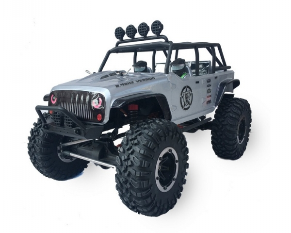 Р/У краулер Remo Hobby Open-Topped Jeeps 4WD 2.4G 1/10 RTR + Ni-Mh и З/У