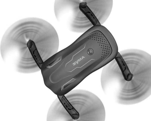 Р/У квадрокоптер Syma Z1 с FPV трансляцией Wi-Fi, барометр, 2.4G 6-AXIS RTF