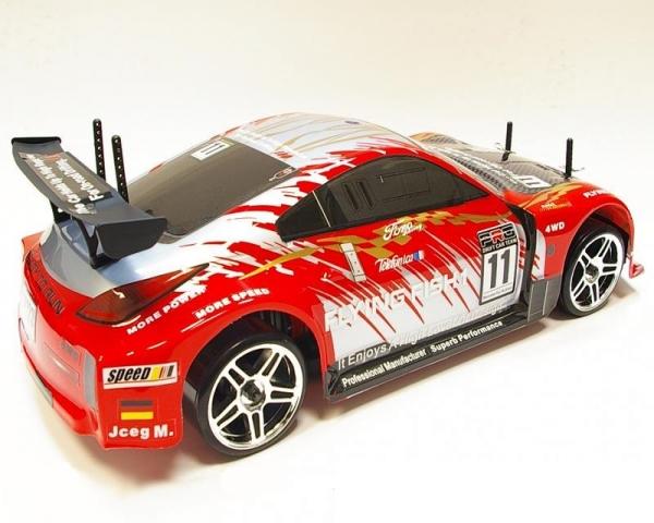 Радиоуправляемый туринг Himoto DRIFT TC 2.4GHz 1/10 RTR (красный) + АКК и ЗУ