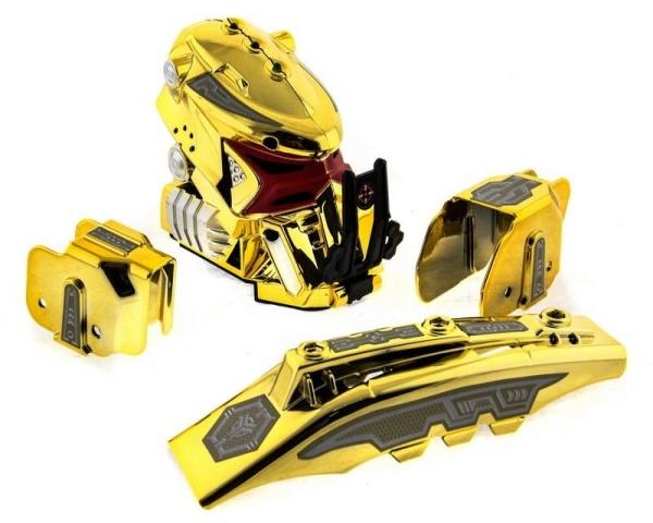 Радиоуправляемый боевой робот-паук Keye Toys Space Warrior (лазер, диски) 2.4GHz (золотой) + АКК и ЗУ