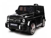 Электромобиль Гелендваген Merсedes G63 (Черный) (Пластиковое сиденье) Harleybella HL168-B