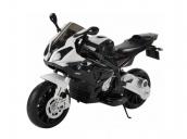 Детский электромобиль мотоцикл BMW S1000PR на аккумуляторе 12V цвет черный Jiajia JT528-black