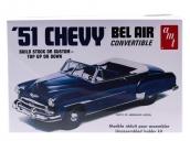 Склеиваемая пластиковая модель автомобиля AMT Chevrolet Bel Air Convertible 1951 1:25