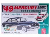 Склеиваемая пластиковая модель автомобиля AMT 1949 Mercury Club Coupe 1:25