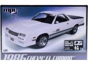 Склеиваемая пластиковая модель автомобиля MPC 1986 Chevy El Camino 1:25
