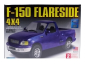 Склеиваемая пластиковая модель автомобиля Hawk Lindberg Ford F-150 Flareside 4x4 1:25