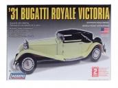 Склеиваемая пластиковая модель автомобиля Hawk Lindberg 1931 Bugatti Royal Victoria 1:24