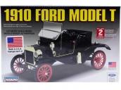 """Склеиваемая пластиковая модель автомобиля Hawk Lindberg 1910 Ford Model """"T"""" 1:16"""