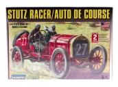 Склеиваемая пластиковая модель автомобиля Hawk Lindberg 1914 Stutz Racer 1:16