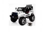 Детский электромобиль Джип цвет белый Harleybella S2388-W