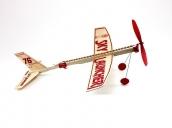 Склеиваемая деревянная модель резиномоторного самолета Guillows Sky Launcher