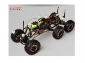 Радиоуправляемый шестиколесный краулер HSP 6WD 1:10 2.4G HSP 941806-280-A
