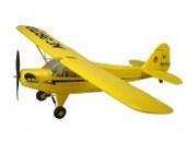 21281 Art-Tech Радиоуправляемый самолет J-3 CUB полный комплект с б/к двигателем