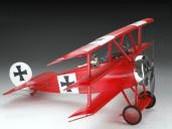 21621 Art-Tech Радиоуправляемый самолет Fokker Dr.1 полный комплект с б/к двигателем