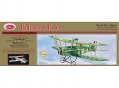 Склеиваемая деревянная модель аэроплана Guillows British S.E.5A 1:12