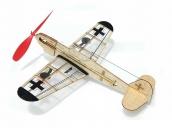 Склеиваемая деревянная модель самолета Guillows German Fighter