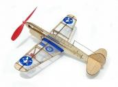 Склеиваемая деревянная модель самолета Guillows U.S. Warhawk