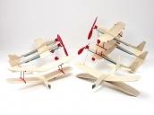 Склеиваемая деревянная модель резиномоторного самолета Guillows Airplane Design Studio
