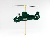 Склеиваемая деревянная модель резиномоторного вертолета Guillows Military CopterToy