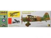 Склеиваемая пластиковая модель самолета Hawk Lindberg Westland Lysander 1:48