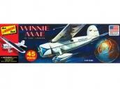 Склеиваемая пластиковая модель самолета Hawk Lindberg Winnie Mae Airplane 1:48