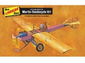 Склеиваемая пластиковая модель моноплана Hawk Lindberg 1911 Martin-Handasyde 1:48