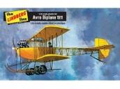 Склеиваемая пластиковая модель биплана Hawk Lindberg 1911 Avro Biplane 1:48
