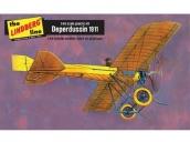 Склеиваемая пластиковая модель моноплана Hawk Lindberg 1911 Deperdussin 1:48