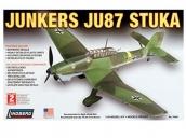 Склеиваемая пластиковая модель самолета Hawk Lindberg Junkers JU-87 Stuka 1:48