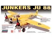 Склеиваемая пластиковая модель самолета Hawk Lindberg Junkers JU-88 1:72