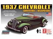 Склеиваемая пластиковая модель автомобиля Hawk Lindberg 1937 Chevy Convertible 1:32