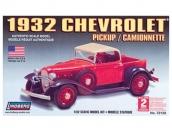 Склеиваемая пластиковая модель автомобиля Hawk Lindberg 1932 Chevy Pickup 1:32