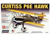 Склеиваемая пластиковая модель самолета Hawk Lindberg Curtiss P6E Hawk 1:48