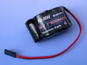 Аккумуляторная батарея 6В 2/3A 1700мАч бортовая горбатая (HP4306H)
