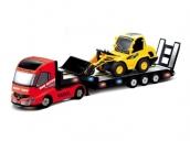 Радиоуправляемый грузовик и экскаватор - QY0231A