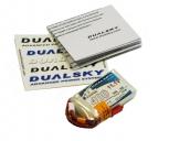 Аккумуляторная батарея Dualsky EX 400mAh 3S1P 11.1V, 5C charge. (XP04003EX)