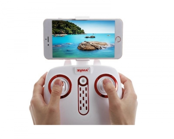 Радиоуправляемый квадрокоптер Syma X14W Wi-Fi FPV с видеокамерой 720p 2.4GHz