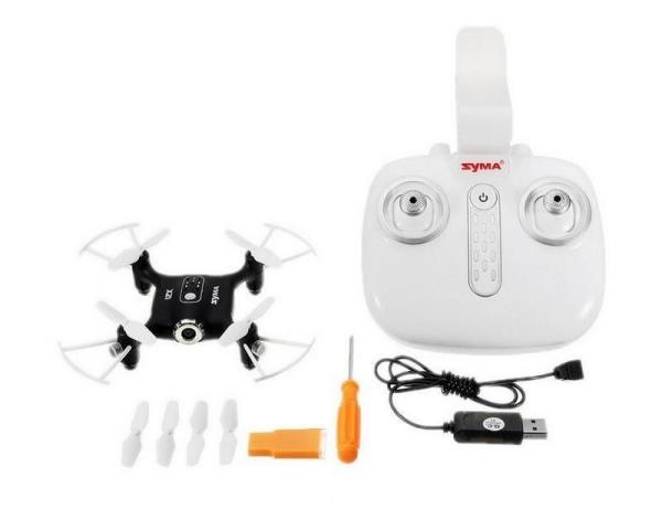 Радиоуправляемый квадрокоптер Syma X21W Wi-Fi FPV с видеокамерой 480p 2.4GHz